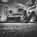 Remont zabytkowego pojazdu